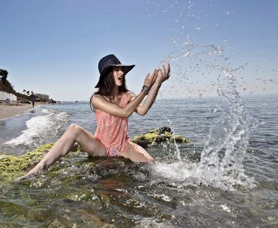 Mijas Beach Fashion Shooting
